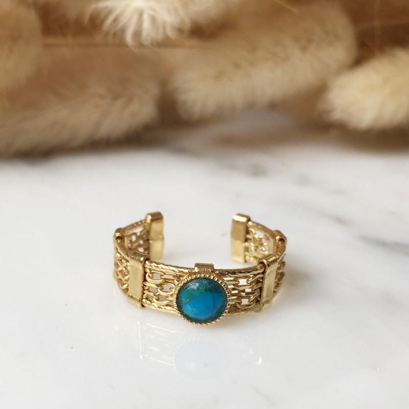 Bague ALIENOR turquoise