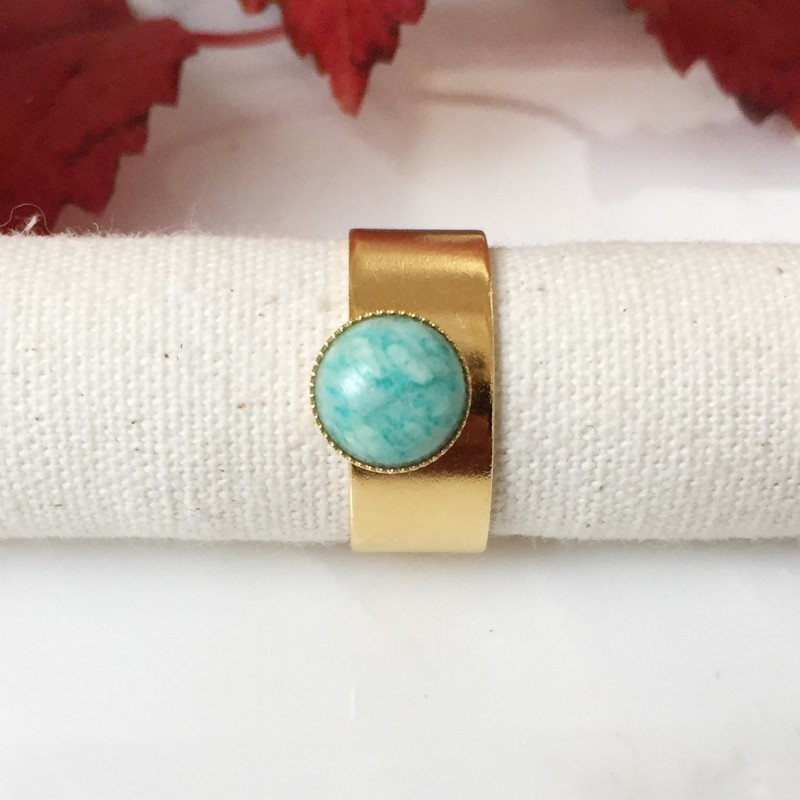 Bague MAY Amazonite