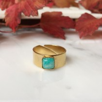Bague KALIE Amazonite