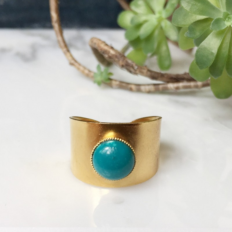 Bague OLIE Turquoise