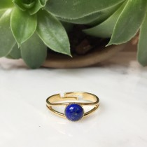 Bague RAYA Lapis Lazuli
