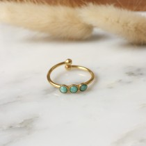 Bague ALEXANDRIE Amazonite